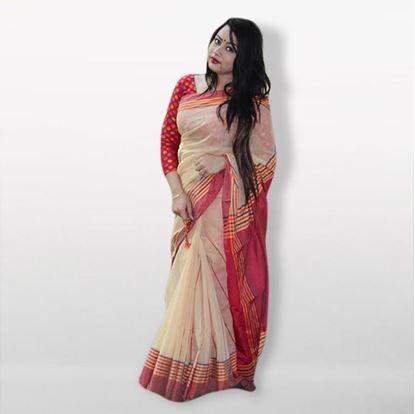 Picture of  Multico Silk Cotton Saree For Women