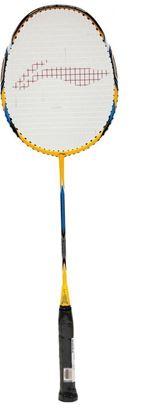 Picture of Li-Ning SS-20 Super Carbon Fiber Badminton Racquet, Size S2 (Yellow/Black)