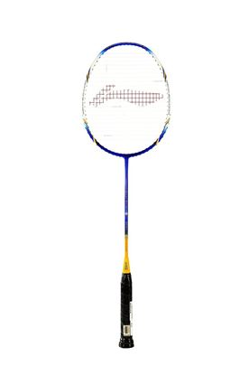 Picture of Li-Ning Super Series SS-68 III Badminton Racquet (Silver/Yellow/Blue)