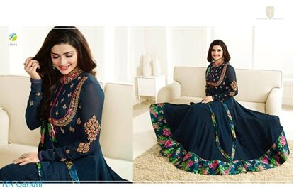 Picture of Vinay Fashion Dress Nevey blue