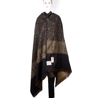Picture of  Kashmiri Shawls for Women-Black