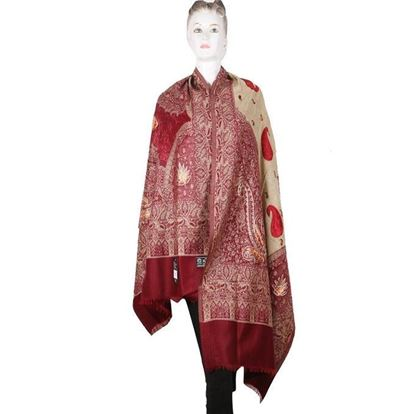 Picture of  Kashmiri Shawls for Women-Khayeri &Cream
