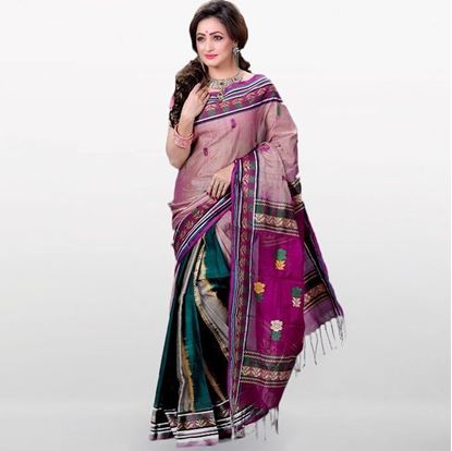 Picture of  Multi Color Musleen Saree For Women