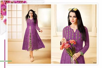 Picture of Zisa Original Indian Kurti-Violet