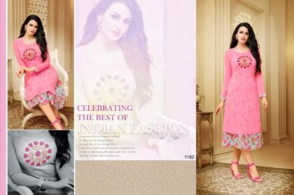 Picture of Zisa Original Indian Kurti- Pink