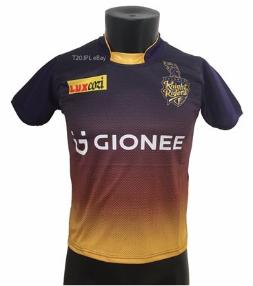 Picture of IPL Kolkata Knight Riders 2017 Jersey