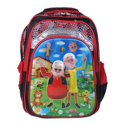 Picture of School Bag For Boys - Red