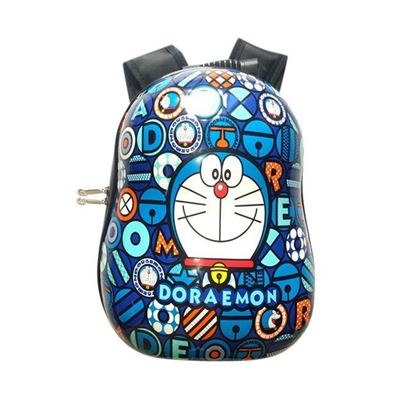 Picture of Doremon School Bag For Kids - Blue