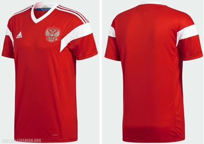Picture of Russia Home World Cup Exclusive Jersey 2018