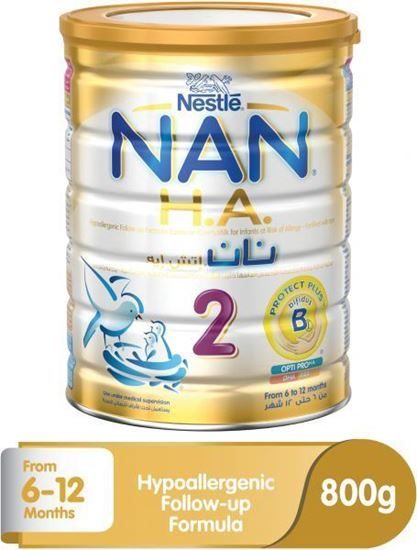 Picture of Nestle Nan H.A. 2 Baby Food - 800g Tin,