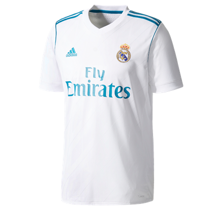 Picture of Real Madrid 2017/18 Home Jersey