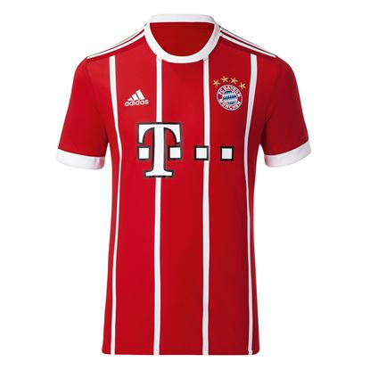 Picture of  2017/18 Bayern Munich Home Half Sleeve Jersey