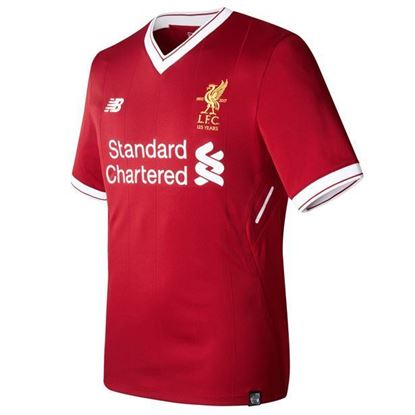 Picture of 2017-18 Liverpool Home Half Sleeve Jersey