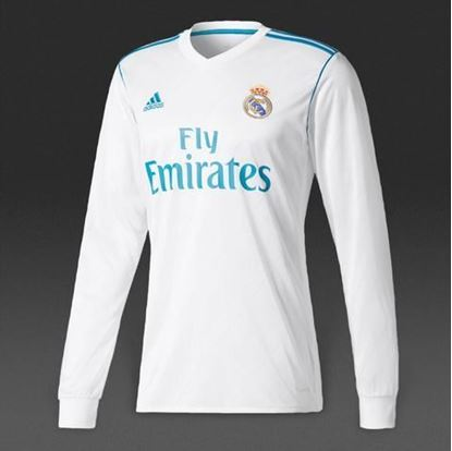 Picture of Real Madrid 2017/18 Home Full Sleeve Jersey