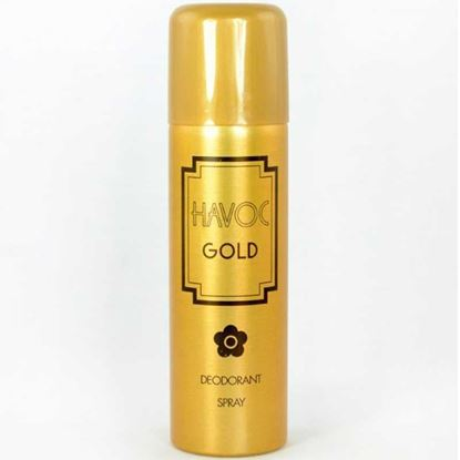 Picture of HAVOC Gold Body Spray for Women - 200ml