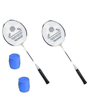 Picture of Cosco CB-885 Badminton Racket Pair With Plastic Grip ( Pack of 2 )