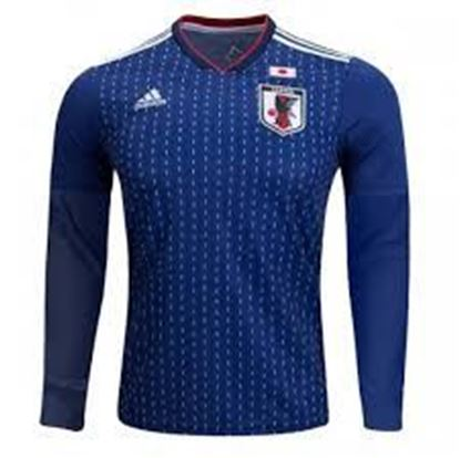 Picture of Japan Home World Cup Special  Full Sleeve Jersey 2018