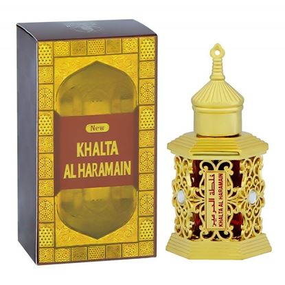 Picture of Al Haramain Khaltat Gold Attar- 12ml