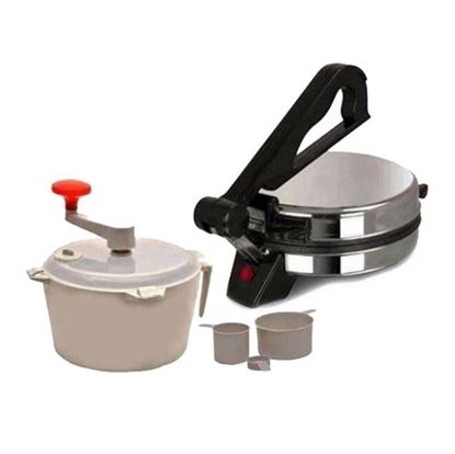 Picture of Sky Haat Combo of Roti and Dough Maker - Multicolor