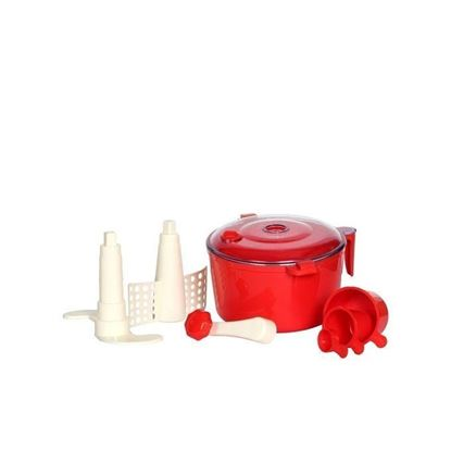 Picture of All in One Dough Maker Ata Maker - Red
