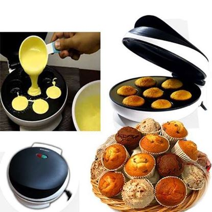 Picture of Electric muffin maker kt882 - White and Black