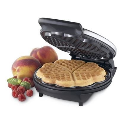 Picture of  Electric Heart ShapeWaffle Maker kt809 - Black