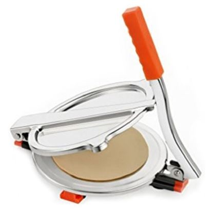 Picture of Stainless Steel Manual Roti Maker/Puri Press - Silver