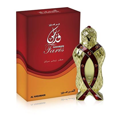Picture of Al-Haramin Faris Perfume Oil-12Ml