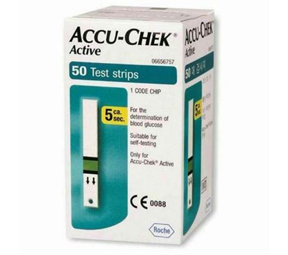 Picture of Accu-Chek Active- ৫০টি স্ট্রিপস