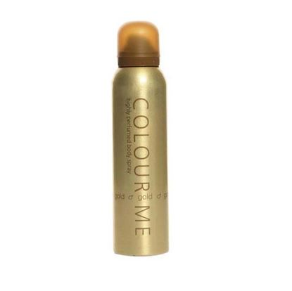 Picture of Colour Me Highly Perfumed Body Spray Gold for Men-150ml
