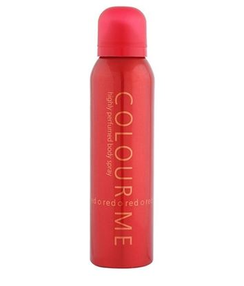 Picture of Colour Me Highly Perfumed Body Spray Red for Men-150ml