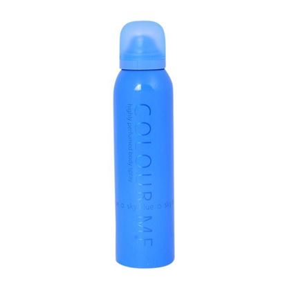 Picture of Colour Me Highly Perfumed Body Spray Sky Blue for Women-150ml