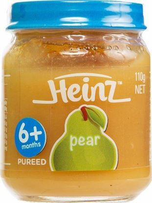 Picture of Heinz 100% Fruit Pears Baby Food 6+ Months 110 g