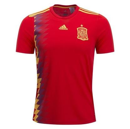 Picture of 2018 Spain Home World Cup Exclusive Jersey