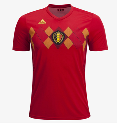 Picture of Belgium Home World Cup Exclusive Jersey 2018