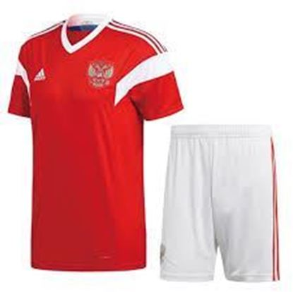 Picture of 2018 World Cup Russia Home Jersey With Pant