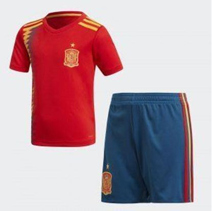Picture of 2018 World Cup Spain Home Jersey With Pant