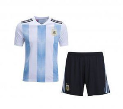 Picture of 2018 World Cup Argentina Home Jersey With Pant
