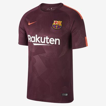 Picture of 2017-18 BarcelonaThird Away Half Sleeve Jersey