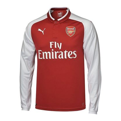 Picture of 2017-18 Arsenal Home Full Sleeve Jersey
