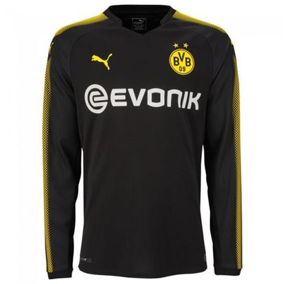 Picture of 2017-18 Borussia Dortmund Away Full Sleeve Jersey