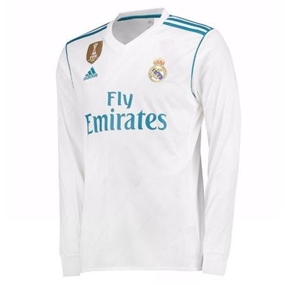 Picture of Real Madrid 2017/18 Home Full Sleeve Exclusive Jersey