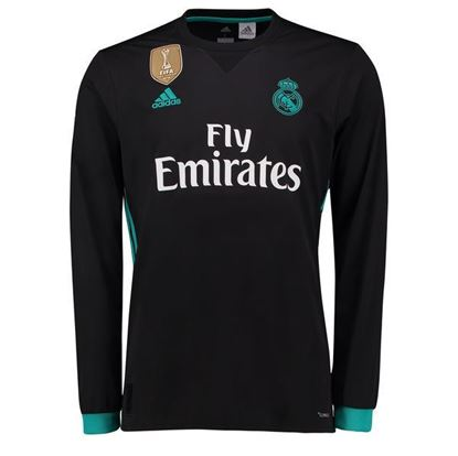 Picture of 2017/18 Real Madrid Away Full Sleeve Exclusive Jersey