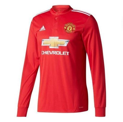 Picture of  2017-18 Manchester United Home Full Sleeve Exclusive Jersey