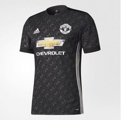 Picture of 2017/18 Manchester United Away Half Sleeve ExclusiveJersey
