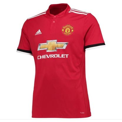 Picture of 2017-18 Manchester United Home Half Sleeve Exclusive Jersey