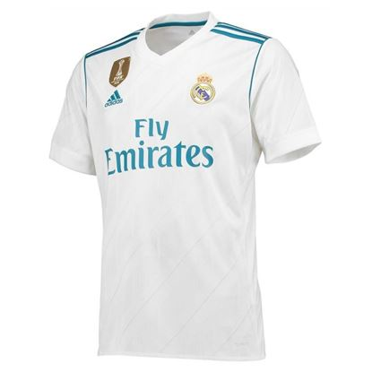Picture of 2017/18 Real Madrid Home Half Sleeve Exclusive Jersey