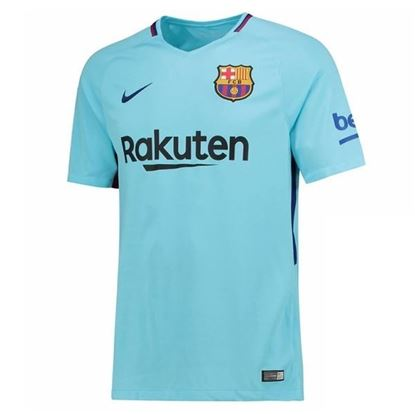 Picture of 2017/18 FC Barcelona Away Half Sleeve Exclusive Jersey