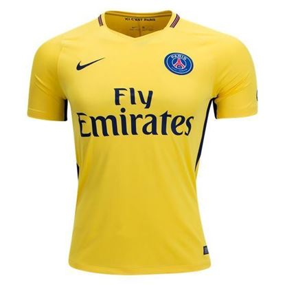 Picture of  2017-18 Paris Saint-Germain Away Half Sleeve Jersey