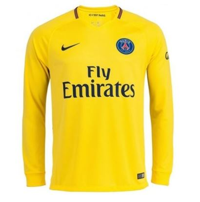 Picture of 2017-18 Paris Saint-Germain Away Full Sleeve Jersey